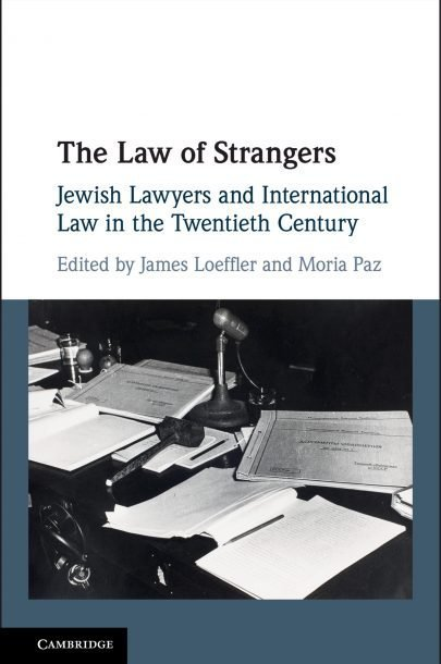 The Law of Strangers cover
